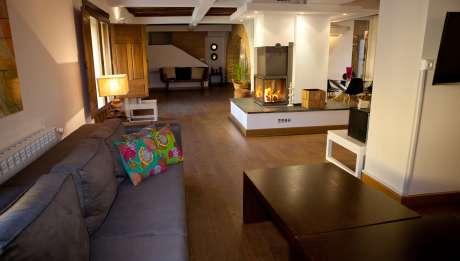 Rusticae Toledo Hotel Villa Cornelius para niños salon
