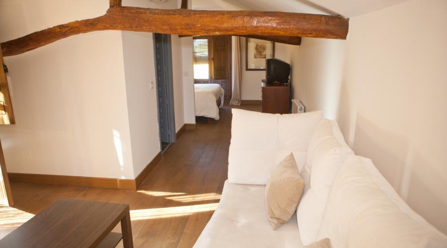 Rusticae Toledo Hotel Villa Cornelius romantico salon