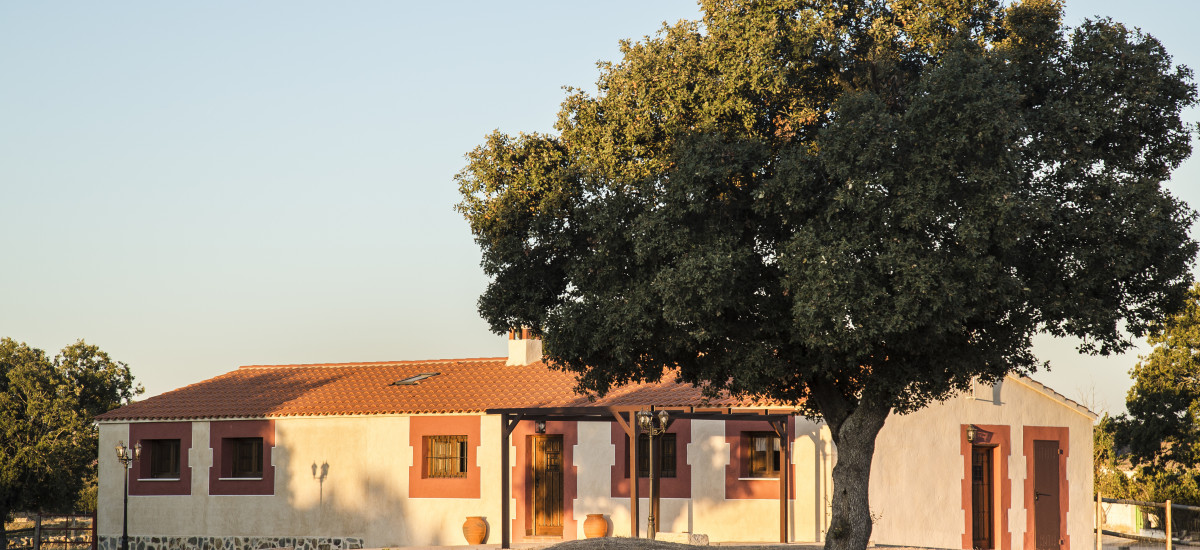 Rural House for Full Rental Dehesa de Montealto garden
