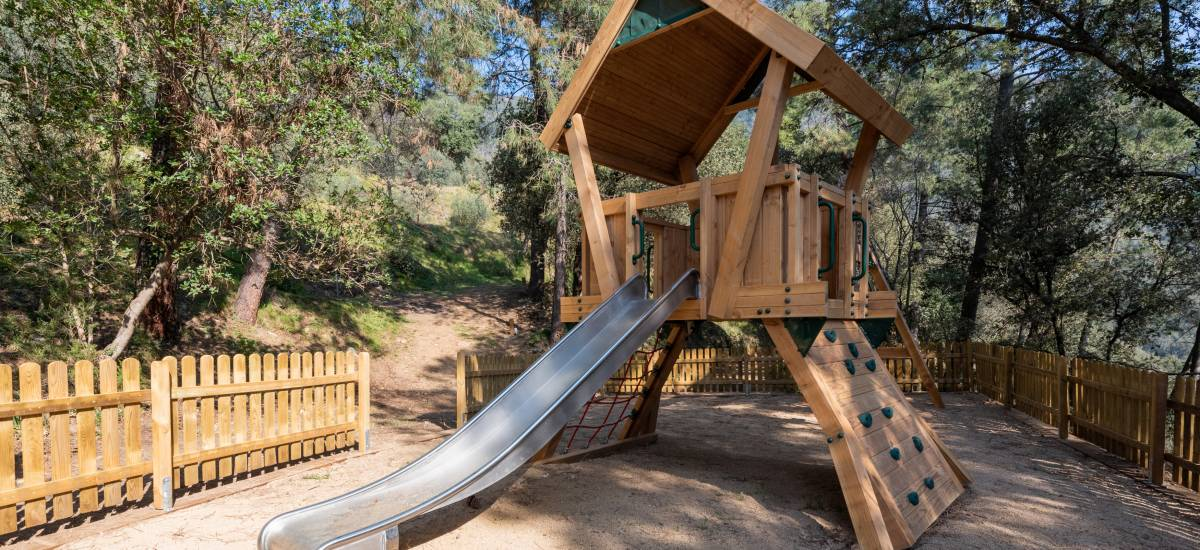 La Piconera Rural Home Osor Girona Rusticae Kids swings