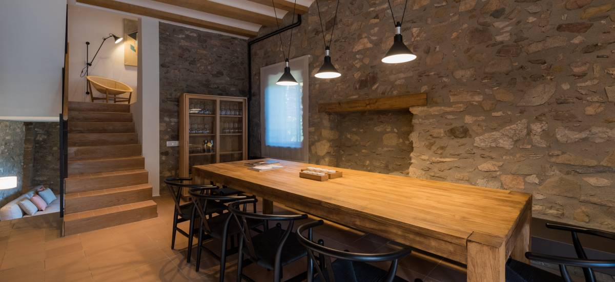 La Piconera Rural Home Osor Girona Rusticae livingroom6