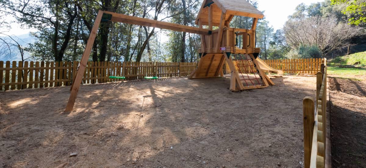 La Piconera Rural Home Osor Girona Rusticae kids garden