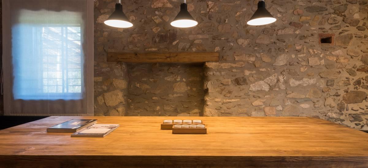 La Piconera Casa Rural Osor Girona Rusticae Escritorio trabajo