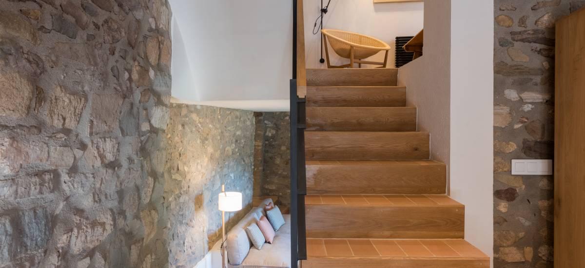 La Piconera Casa Rural Osor Girona Rusticae Escaleras