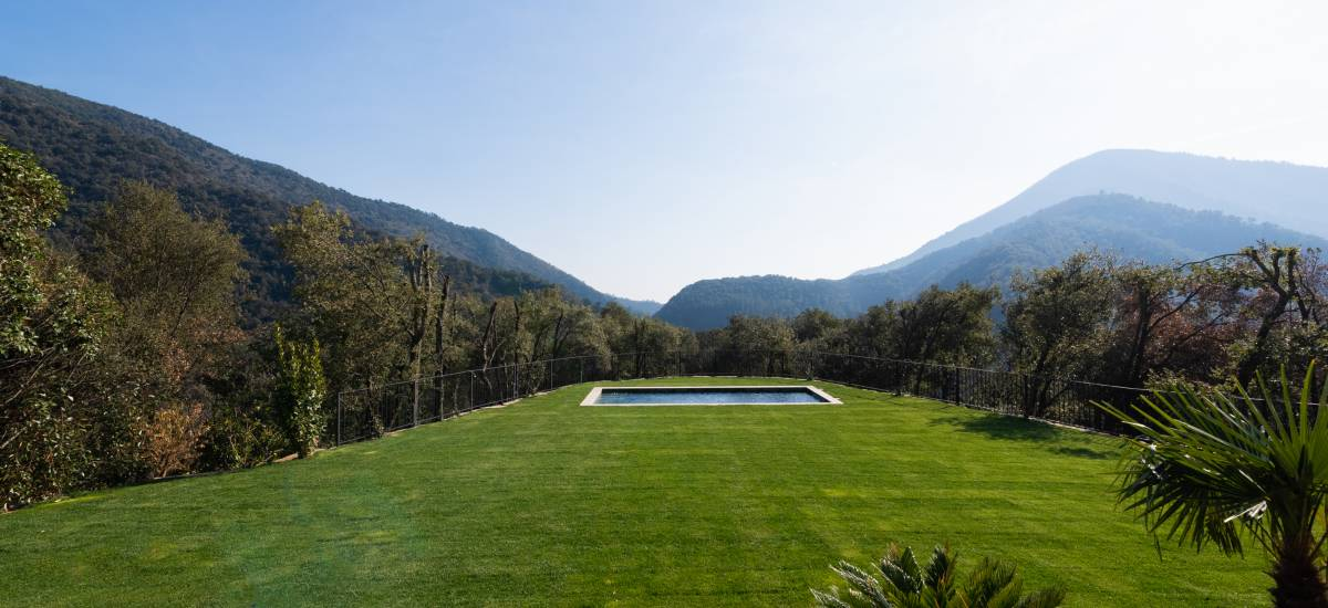 La Piconera Rural Home Osor Girona Rusticae garden-pool