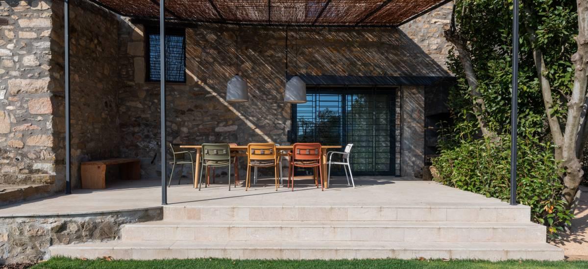 La Piconera Casa Rural Osor Girona Rusticae jardin