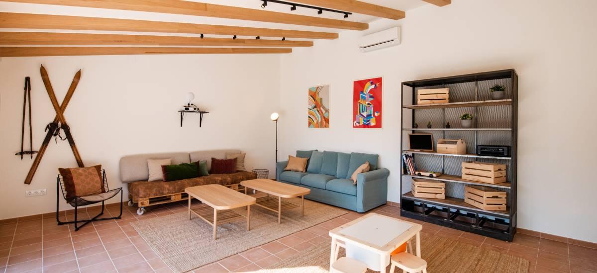 La Piconera Casa Rural Osor Girona Rusticae salón2