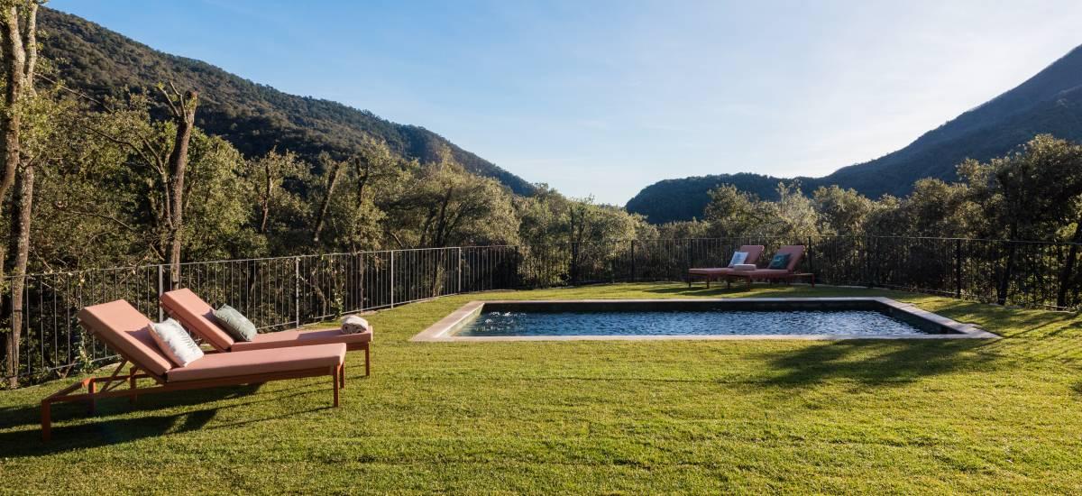La Piconera Casa Rural Osor Girona Rusticae jardín3