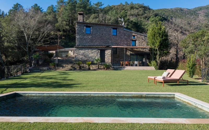 La Piconera Casa Rural osor girona Rusticae Piscina