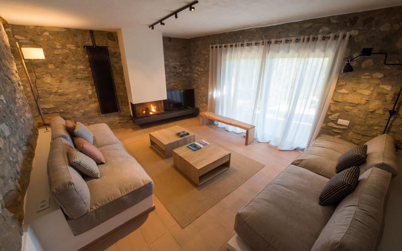 La Piconera Rural Home livingroom