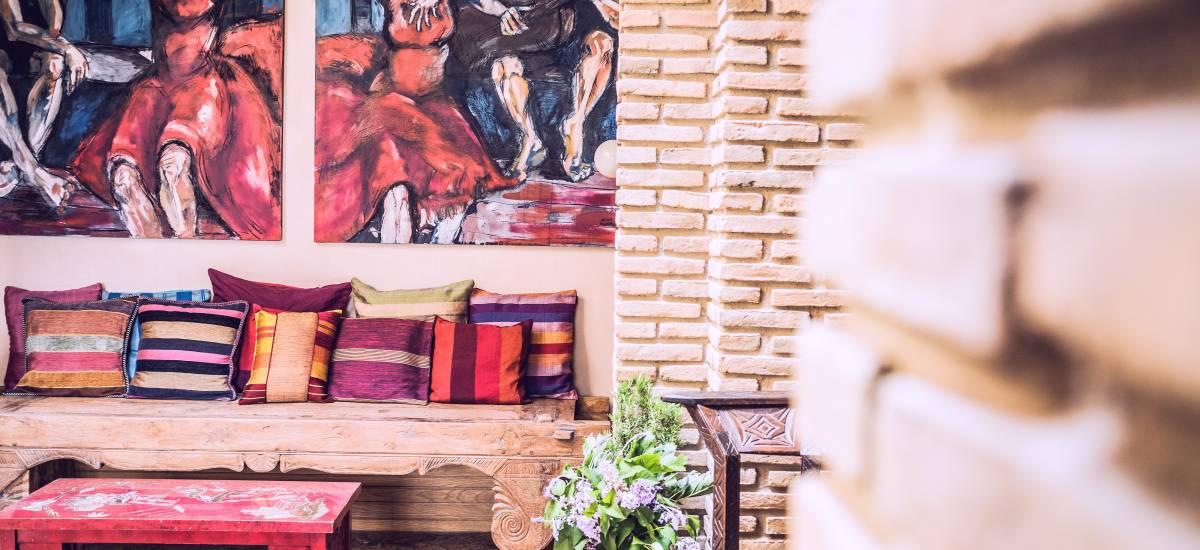 Rusticae Hotel Granada con encanto Zona común