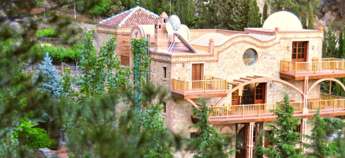 Rusticae Hotel Granada con encanto Exterior