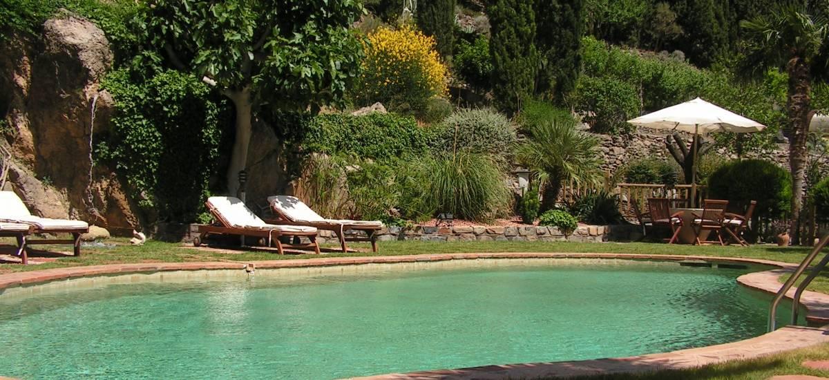 Rusticae Hotel Granada con encanto Piscina