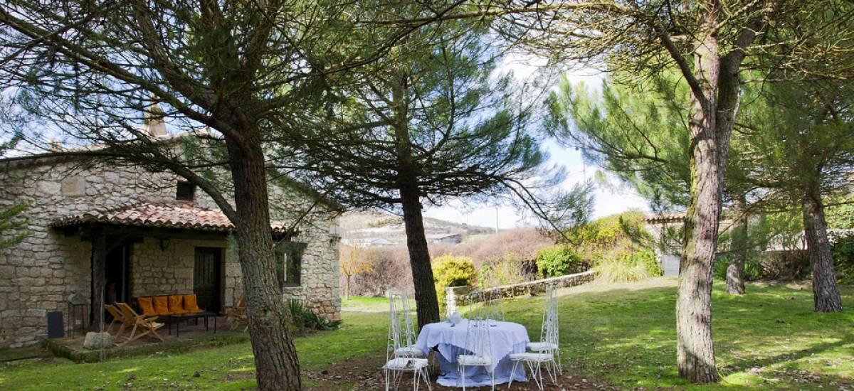 Te cuento 3 Castrillo Casa Rural Jardin
