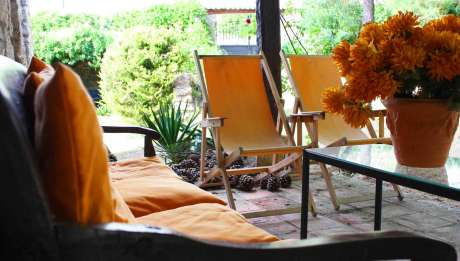Rusticae Burgos Hotel con encanto Terraza