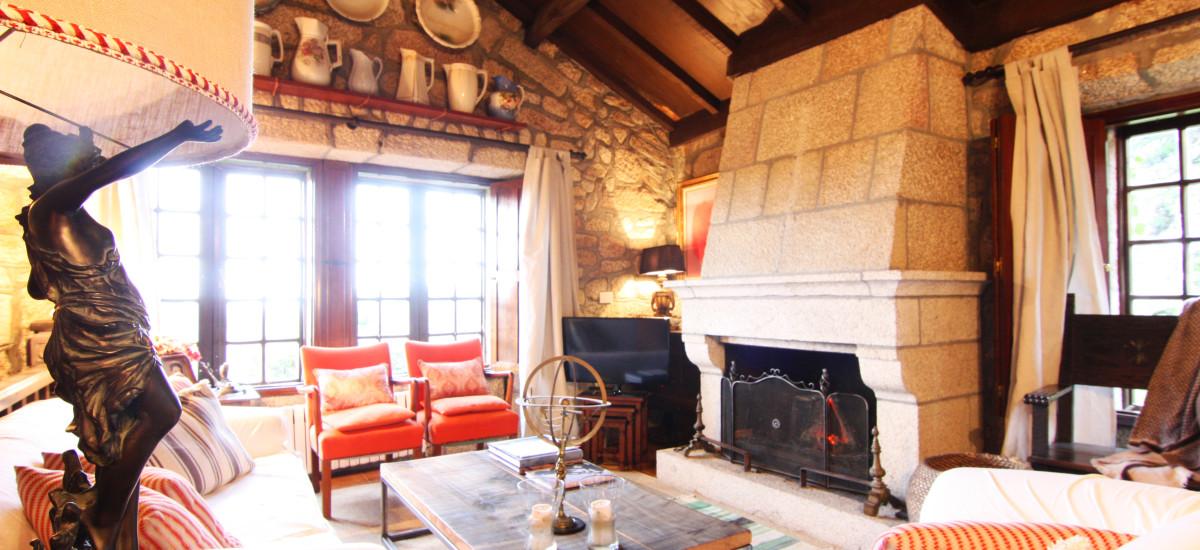 Rusticae Pontevedra Hotel Xesteira  rural living room