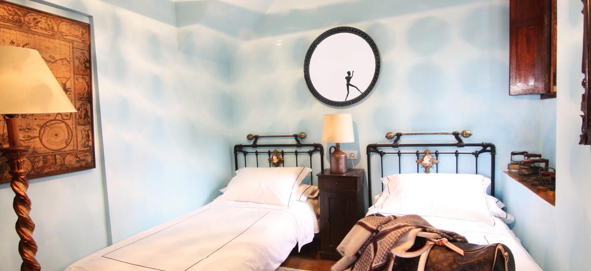 Rusticae Pontevedra Hotel Xesteira  beach bedroom