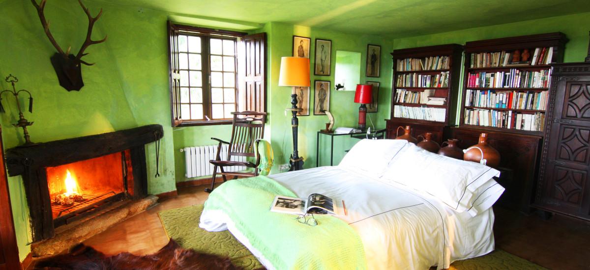 Rusticae Pontevedra Hotel Xesteira  rural bedroom