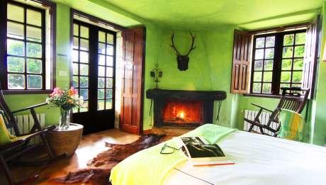 Rusticae Pontevedra Hotel Xesteira  con jardín