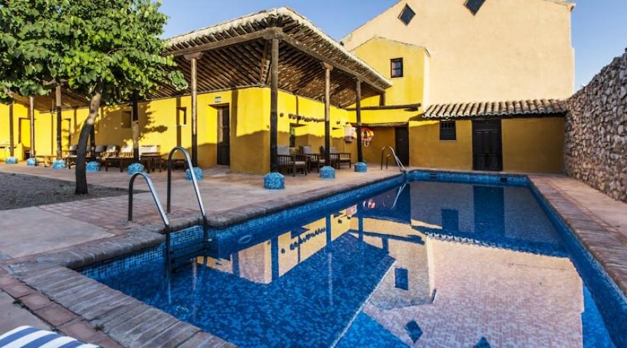 Rusticae Granada Hotel con encanto Piscina