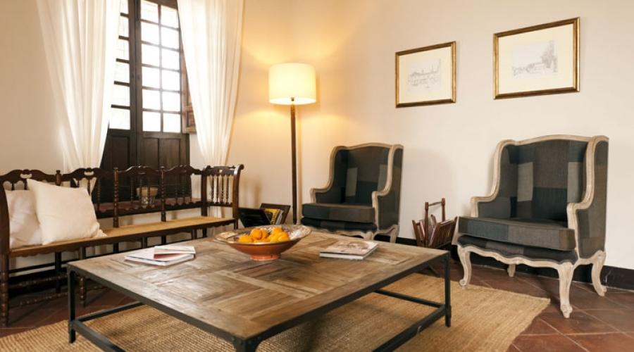 Rusticae Granada Hotel con encanto Zona común
