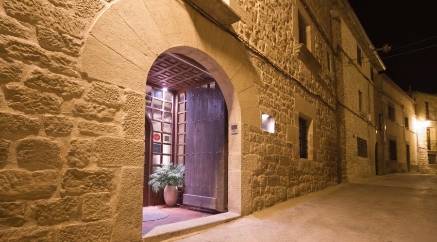 Rusticae Teruel Hotel Boutique Cresol con encanto entrada
