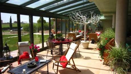 Rusticae Hotel Cuenca con encanto Terraza