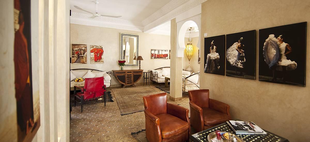 Rusticae Marruecos Hotel Dar Justo romantic living room