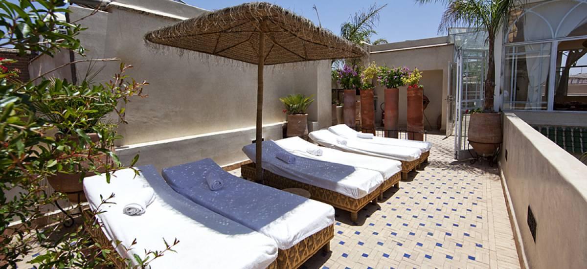 Rusticae Marruecos Hotel Dar Justo romantic terrace