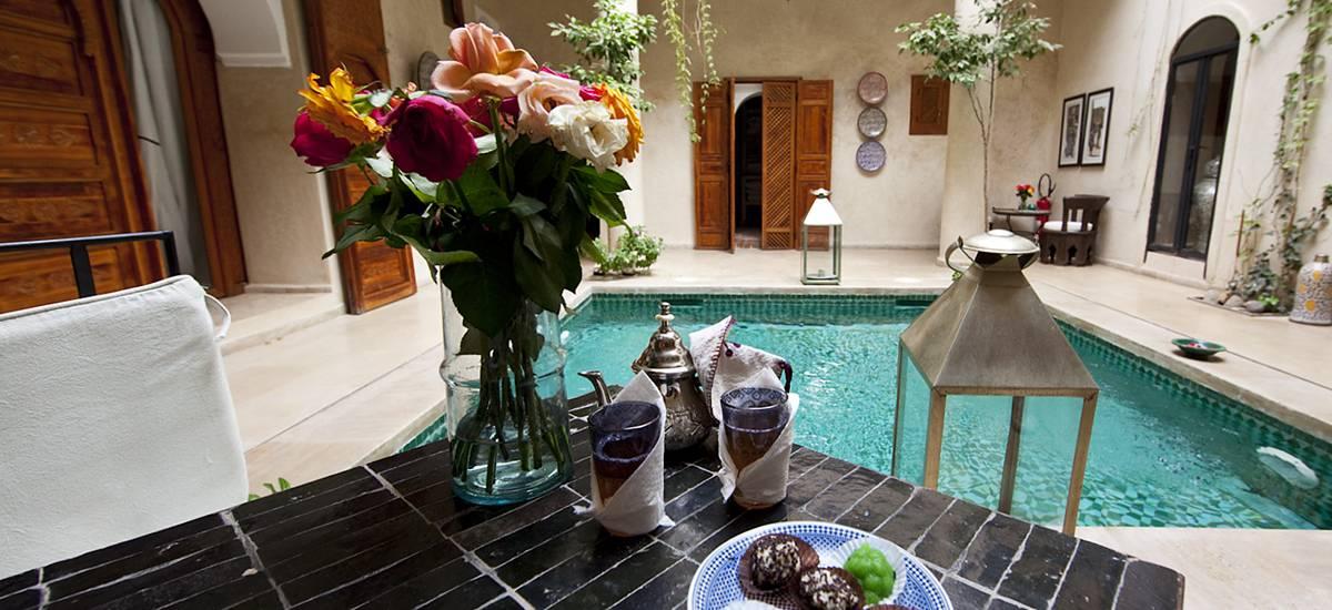 Rusticae Marruecos Hotel Dar Justo romantic swimming pool