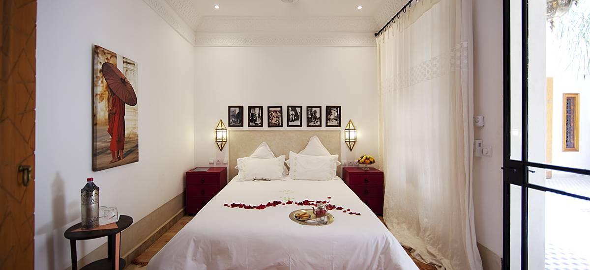 Rusticae Marruecos Hotel Dar Justo romantic bedroom