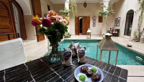 Rusticae Marruecos Hotel Dar Justo con encanto piscina