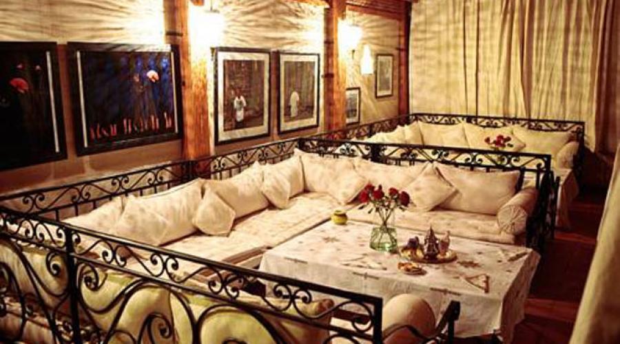 Rusticae Marruecos Hotel Dar Justo con encanto salón