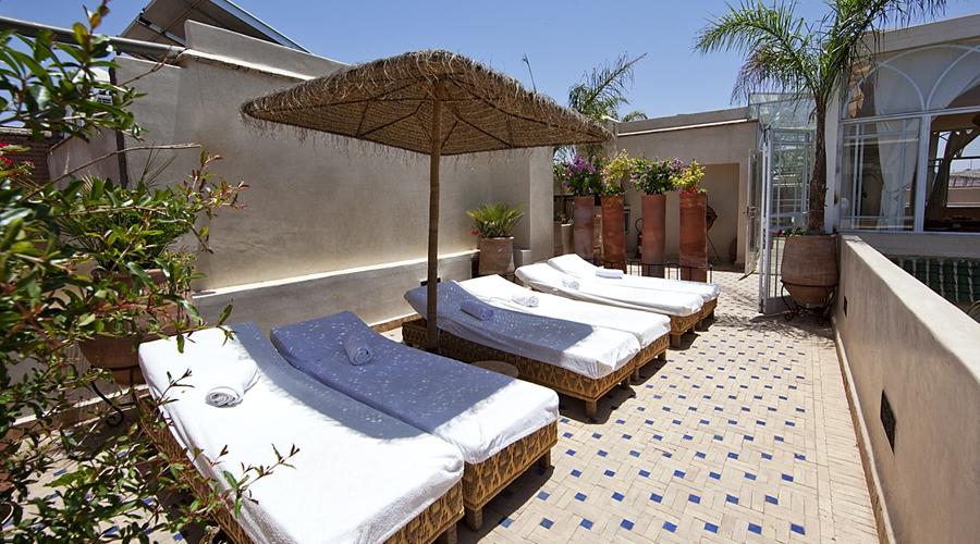 Rusticae Marruecos Hotel Dar Justo romántico terraza