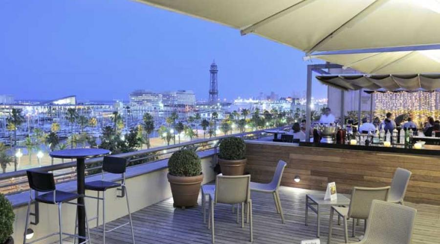 Rusticae Barcelona Hotel con encanto Terraza Bar