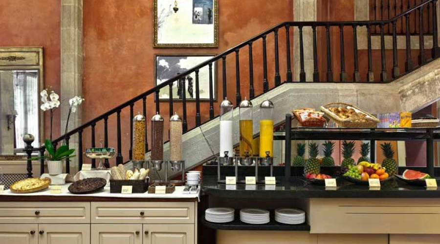 Rusticae Barcelona Hotel con encanto Buffet