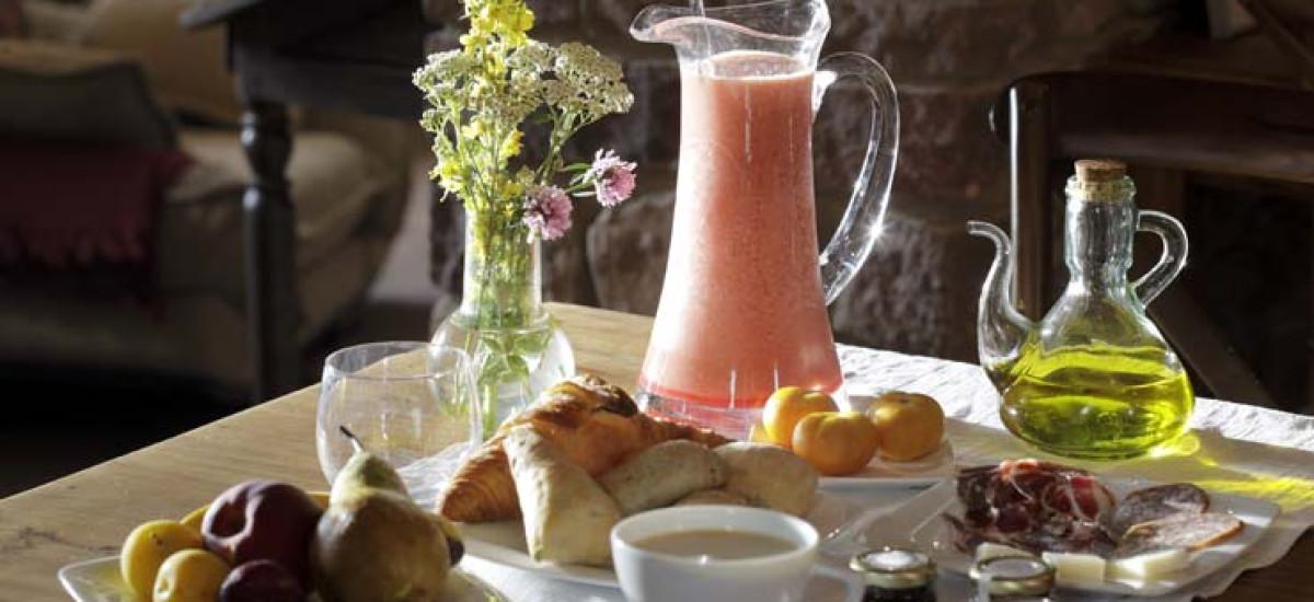 Rusticae Huesca charming Hotel El Acebo de Casa Muria breakfast