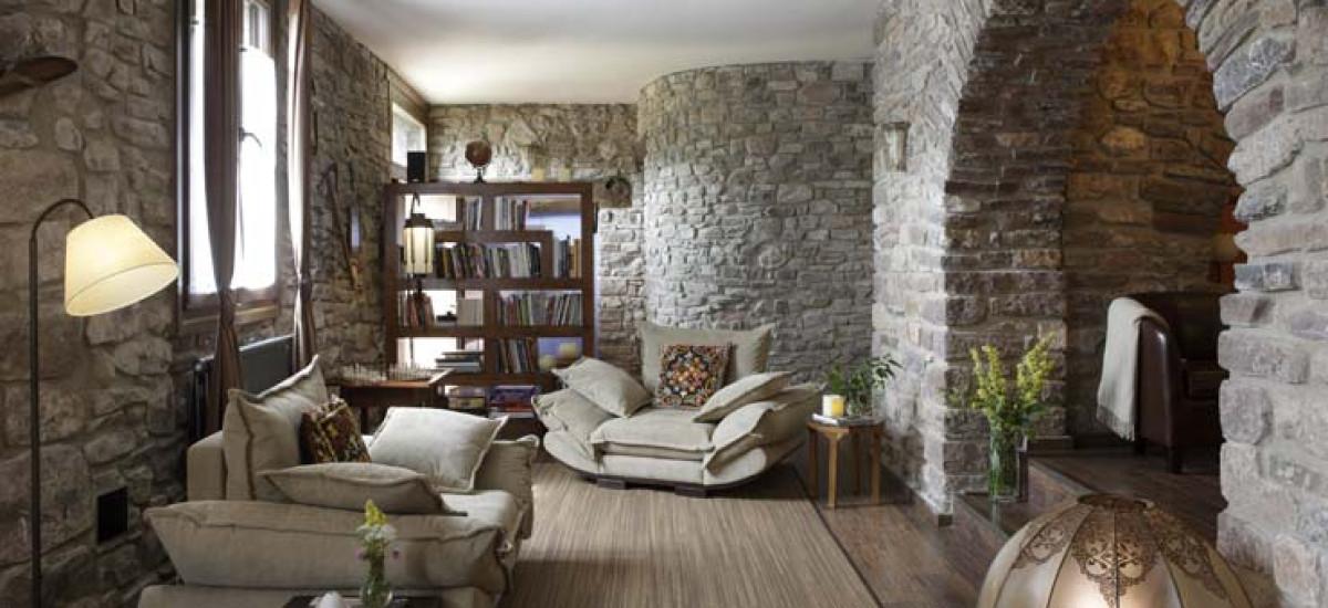 Rusticae Huesca charming Hotel El Acebo de Casa Muria bedroom