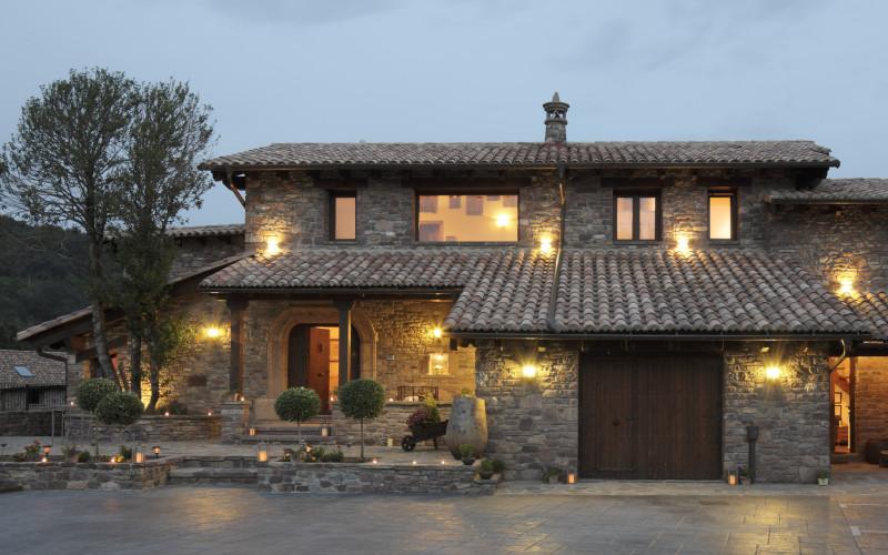 Rusticae Huesca charming Hotel El Acebo de Casa Muria outside