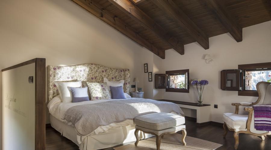 Rusticae Huesca Hotel con encanto Habitación