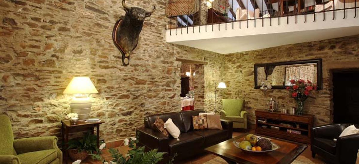 Rusticae Jaén Hotel con encanto Salón