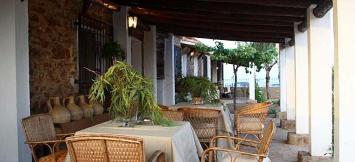 Rusticae Jaén Hotel con encanto Terraza