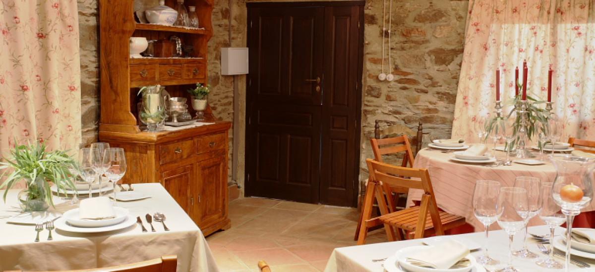 Rusticae Jaén Hotel con encanto Comedor