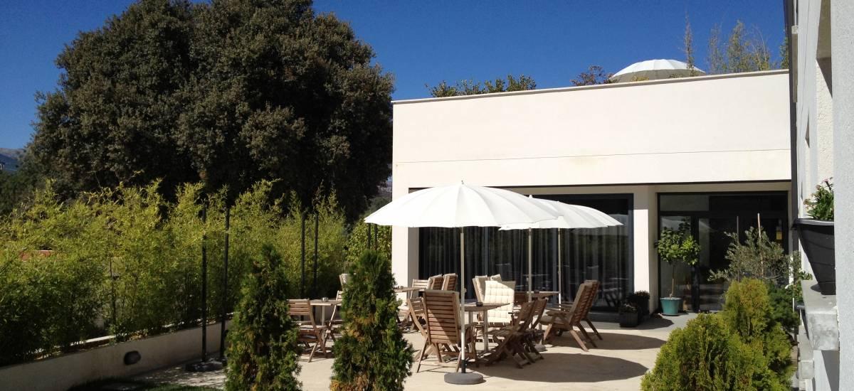 Rusticae Ávila Hotel charming terrace