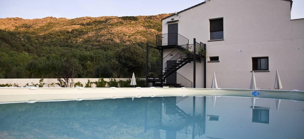 Rusticae Ávila Hotel con encanto Piscina