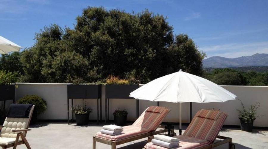 Rusticae Ávila Hotel con encanto Terraza privada
