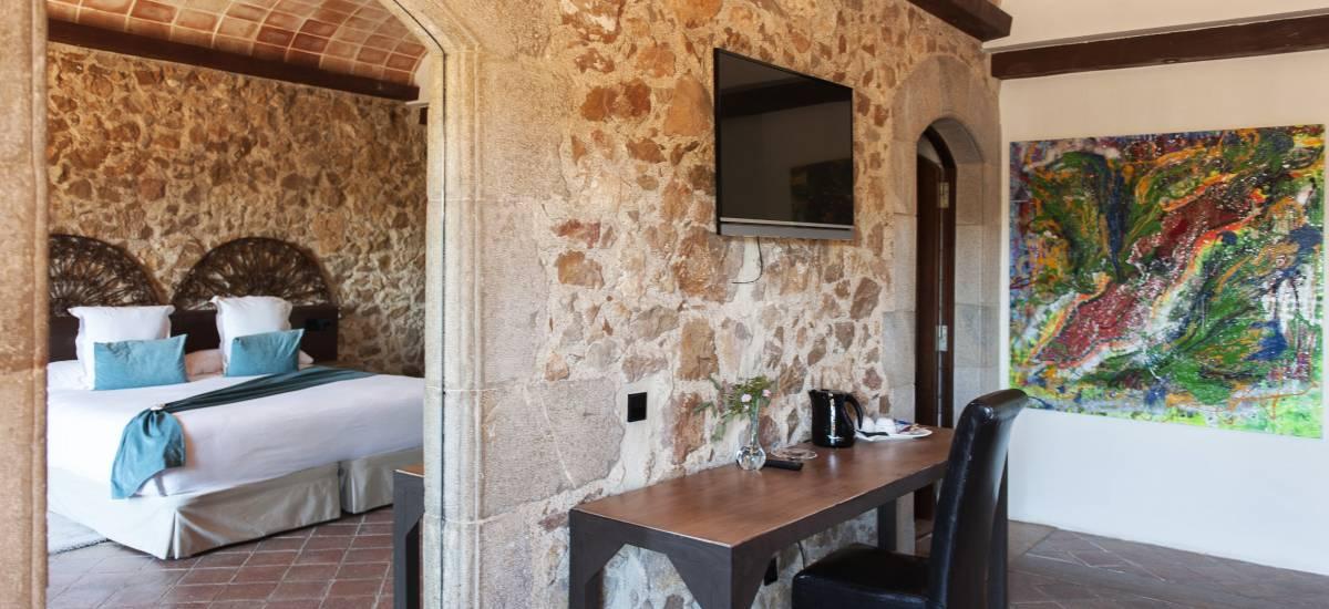 Hotel El Molí de L´Escala habitaciones