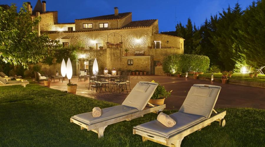 Rusticae Hotel Girona Gerona con encanto Terraza