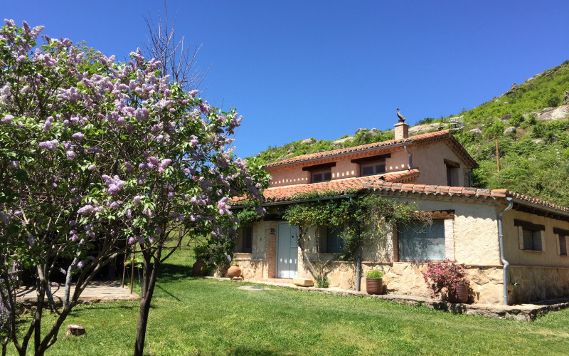 El Vergel de Chilla Casa rural cottage hotel garden Rusticae