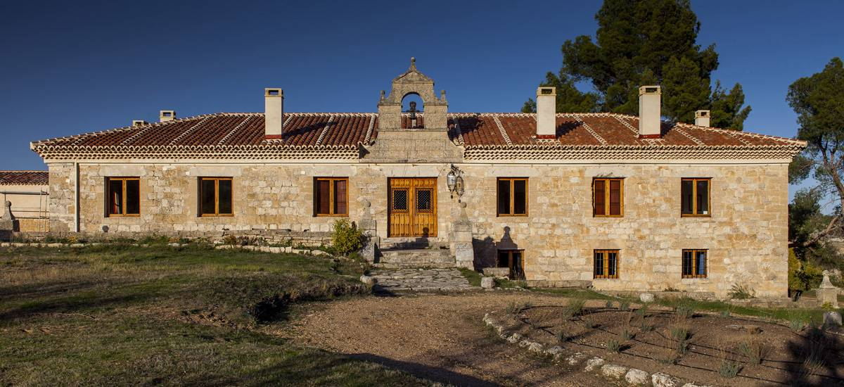 Finca el Cercado Rural Home in Baltanás Palencia Entrance